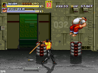Streets Of Rage: Remake V
